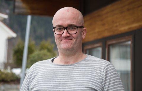 Petter Ratvik, miljøkoordinator og koordinator for Helse Førde sitt ungdomsråd.
