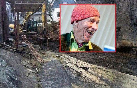 ANMELDT: Olav Thon er anmeldt for å ha utført ulovlige arbeider i strandsonen ved huset sitt i Strömstad, og sjefen for hans eiendomsutvikling innrømmer at svensk lov kan være brutt.