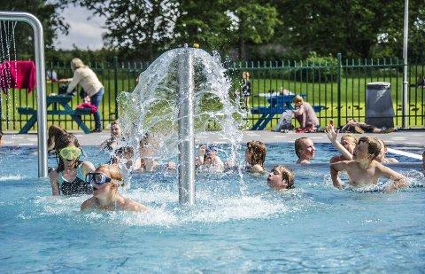 Sommerferie: 726 personer i lavinntektsfamilier får sommerferietilbud ved Barnas stasjon. Barna på bildet har ingenting med saken å gjøre. Arkivfoto: Geir A. Carlsson