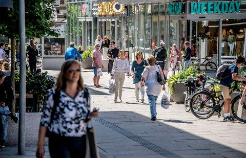 60 prosent av oss handler i sentrum, og de som bor på vestsiden bruker sentrum mer enn innbyggerne på østsiden, viser en fersk handelsanalyse.