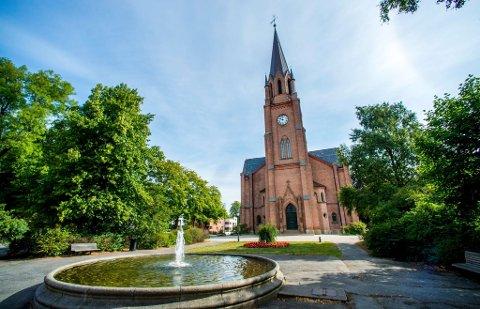 SKAL SKINNE IGJEN: Fontenen i Kirkeparken skal skinne igjen – og ikke minst skal kommunen sikre at vannet fortsatt spruter der i mange år fremover gjennom en rehabilitering til millioner.