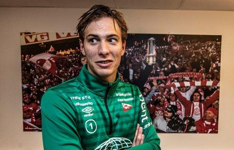 TØFFE TIDER: Håvar G. Jenssen medgir at det har vært noen tunge stunder etter tapet mot Moss. Nå retter han blikket mot avslutningen.