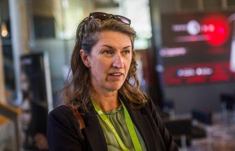 Dette er den nye lederen i Miljøpartiet de Grønne i Fredrikstad: Ida Julsen (45).
