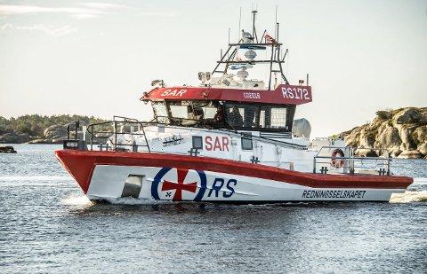 Trenger du bistand av redningsskøyte så kommer RS 172. Du får ikke vite hva båten faktisk heter før den 18.august. Foto: Geir A. Carlsson