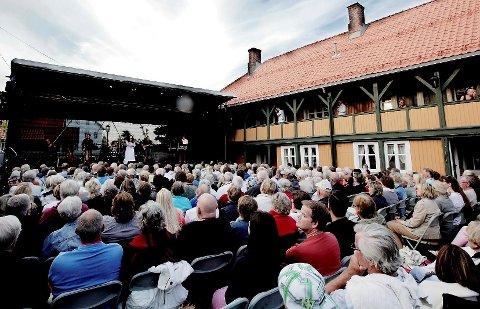 ØNSKER KULTUR: Det har kommet et bud på 10,5 millioner kroner på Horten Gård fra aktører som fremdeles ønsker kulturvirksomhet på stedet.
