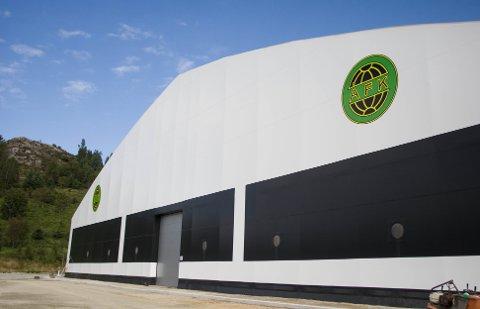 Ålgård fotballklubbs fotballhall er allerede tatt i bruk. Nå ønsker klubben å kunne selge navnet for å få sponsorinntekter.