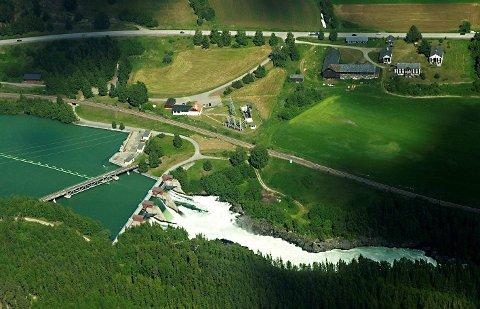 Høyspentledningen fra Harpefoss kraftstasjon skal oppgraderes.