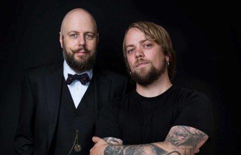 OM DØDEN: Presten Stian Kilde Aarebrot og ateisten Didrik Søderlind skal torsdag samtale om døden, som en del av Døden-utstillingen på Maihaugen.