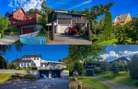 Spinnerivegen 27, Kringsjåvegen 223, Roterudvegen 4, B. Lundgaards gate 26 og Sidsel Sidserks veg 7 var blant de dyreste boligsalgene på Lillehammer i august.