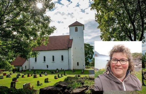 MASSIV RESPONS: Tanya Tone Wahl er bosatt i Lofoten, og får derfor ikke stelt graven på Hoff kirkegård.