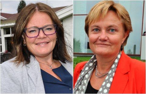STORTINGET: Kari-Anne Jønnes (til venstre) og Rigmor Aasrud er begge fra Gran og kan ende opp på Stortinget sammen fra 2021.