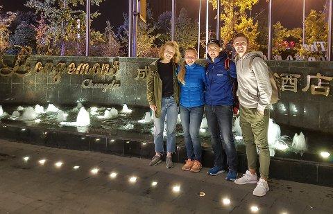 VM-KLARE: Ingrid Bøe Jacobsen og resten av det norske sprintlandslaget trives i Kina, og gleder seg til VM-start.