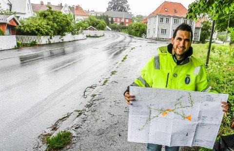 STENGER: Stenges i tre måneder fra 3, juni. Det forteller prosjektleder Ruben Marco Arroyo i Halden kommune.