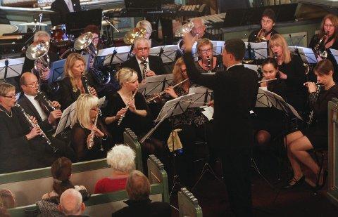 Odda musikklag: Her frå julekonsert i Odda kirke i 2015.
