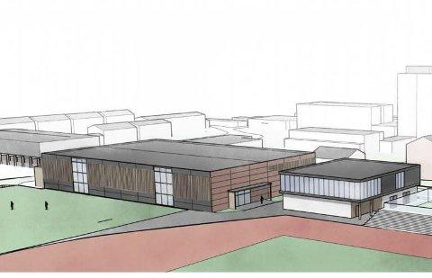 Store planer: Campus Odda. Illustrasjon: Karoline Førsund