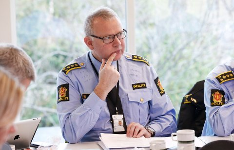 Politistasjonssjef i Haugesund Edgar Mannes.