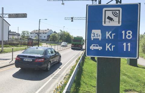 Bompenger, omkjøringsveien og prioriteringer av samferdselsprosjekter gjør samferdsel til den viktigste valgkampsaken på Karmøy. Foto: Gaute-Håkon Bleivik.