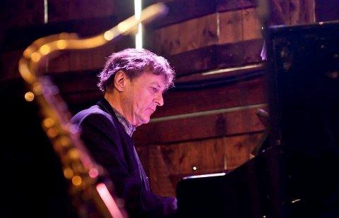 LØRDAGSJAZZ:  Dag Arnesen er en av musikerne du kan høre under Lørdagsjazz på Høvleriet.
