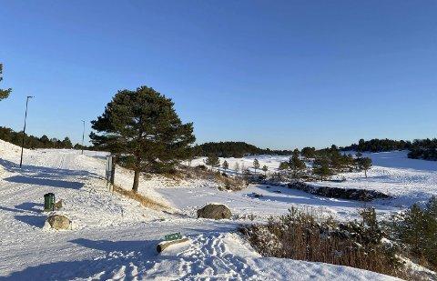 Sveio: Fine turløyper ved golfbanen i Sveio.