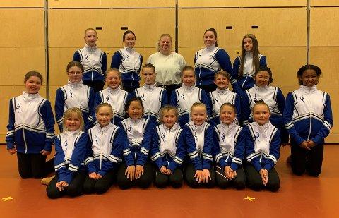 Harstad skole musikkorps sin drilltropp kan si seg fornøyde med hele 23 pallplasseringer under årets NNM.