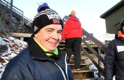 REKRUTTERING: Bjørnar Pettersen i Botne Skiklubb er klar for Breimyrrekrutten, og åpner for påmelding helt til det siste.