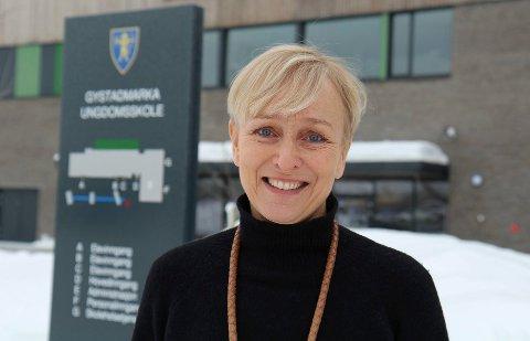 KLAR FOR NYE UTFORDRINGER: Fungerende rektor Karen Marie Løberg skal nå arbeide med oppvekst- og kultur.