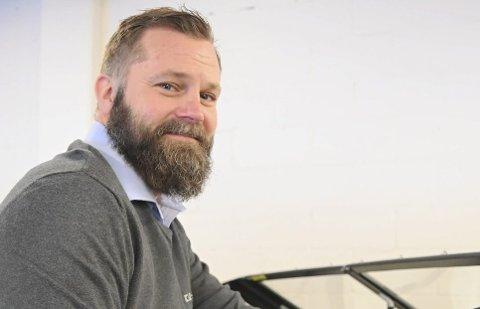 Tommy Kiil har startet et nytt selskap i Kjølebrønd som skal drive med båtopplæring. (Arkivfoto)