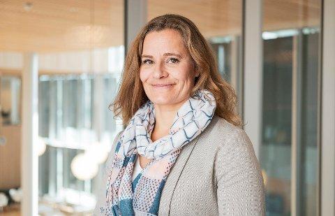 Gina Scholz, kommunikasjonssjef i Vy.