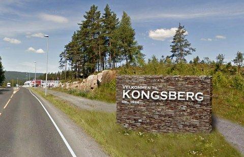 BAK DE SJU BLÅNER: Kan noen finne igjen det nye velkomstskiltet? Arild Brun Kjeldaas vant den utlyste konkurransen med dette forslaget.