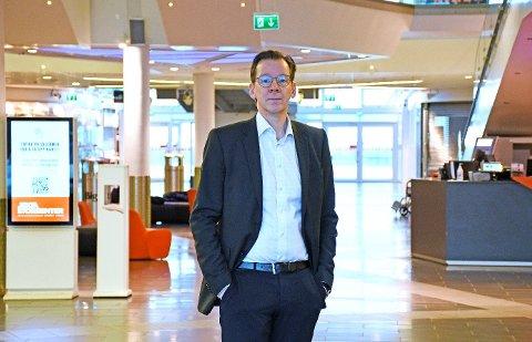 Administrerende direktør Yngve Haldorsen i Coop Nord.