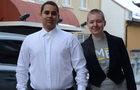 Kristian Manuel Duong og Frankie Solberg Rød er fylkesleder og nestleder i Ungdom mot EU Østfold, ble nylig valgt inn i sentralstyret, og starter i disse dager opp et lokallag i Moss.