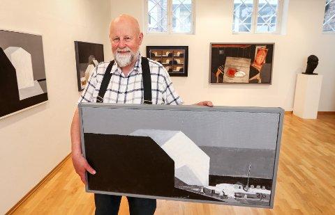 MALERI OG SKULPTUR: Ole Jakob Ihlebæk kommer til Moss Kunstforening med utstillingen «Kontrapunkt».