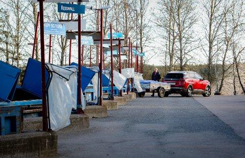 STENGT: Solgård Avfallsplass holder stengt på flere av de røde dagene i mai.