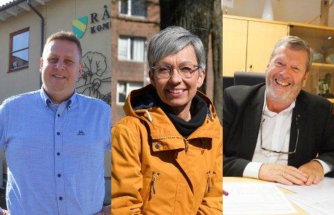 GLADNYHET: Onsdag kveld fikk ordførerne i Råde, Moss og Vestby en nyhet de virkelig kunne smile av.