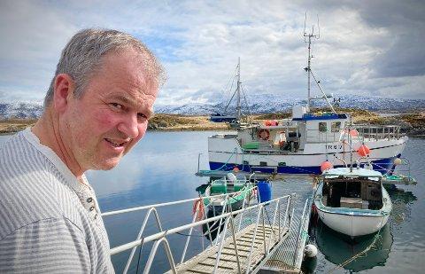 ANNUS HORRIBILIS: Det går mot et veldig dårlig år for fiskerne som skal fylle torskekvotene sine i Vikna og i Nærøysund for øvrig. Marius Olsen (47) fikk derimot fylt kvoten sin til slutt, men frykter at mange andre vil slite med å nå målet sitt.