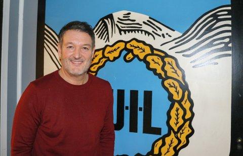 NY HOVEDTRENER: Jonathan Hill (48) gleder seg til å ta fatt på jobben som ny hovedtrener i TUIL.
