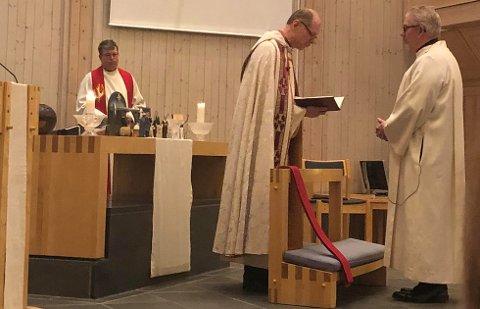 ORDINERT: Svenn A. Nielsen har blitt ordinert som prest i en alder av 64 år.