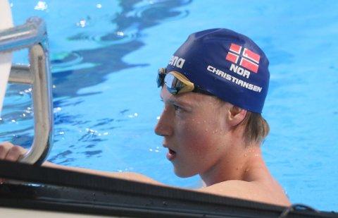 Henrik Christiansen håper på flere store stevner i Tromsø i årene som kommer og han lover å komme tilbake til Tromsøbadet.
