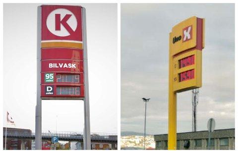 Fredag formiddag kunne man fylle bensin til mer enn 20 kroner literen i Tromsø. Men det var også mulig å få den mye billigere.
