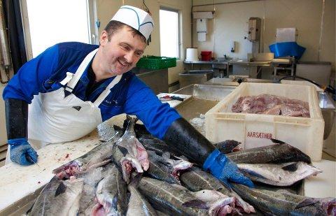 SELGER IKKE: Innehaver Karl-Alberth Hansen har valgt å avslutte forhandlingene om salg av Karl's Fisk og Skalldyr AS. Arkivfoto.