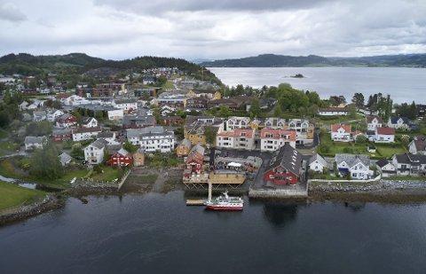 FRA FJORD TIL FJORD: I mai 2019 åpnet Kølhagan i Straumen i Inderøy. Dette er én av havnene som kommunen tror får økt besøk etter at det nå gjøres en ny reiselivsatsing med fokus på båtfolket.
