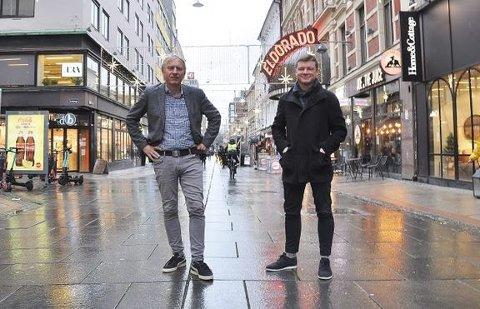 NY AVIS: Avisa Oslo får Magne Storedal (t.v.) som ansvarlig redaktør, mens Jostein Larsen Østring går inn som styreleder.