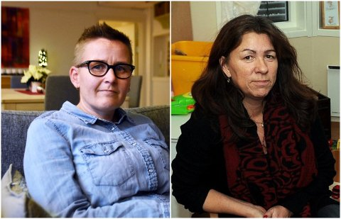 BEKYMRET: Daglig leder Guro Hesselberg ved Smiso i Oppland (til venstre) og daglig leder Heidi Olden Eng ved Gjøvik Krisesenter er bekymret for at overgrep og vold i nære relasjoner vil tilta.