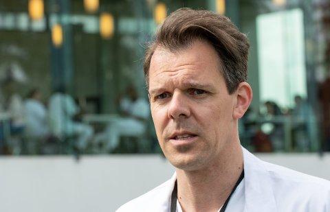LEGE: Daniel Heinrich bytter ut Ahus med Gjøvik sykehus.