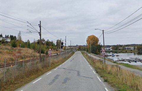 KONTROLL: Torsdag ettermiddag satte utrykningspolitiet opp laseren i 40-sone på Hågårvegen på Eina. Illustrasjonsfoto.