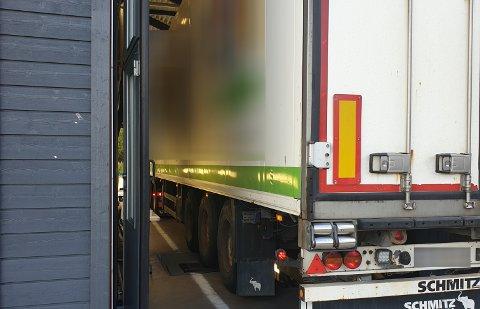 TRAFIKKFARLIG: Dette vogntoget manglet bremser på fem av seks hjul på hengeren.