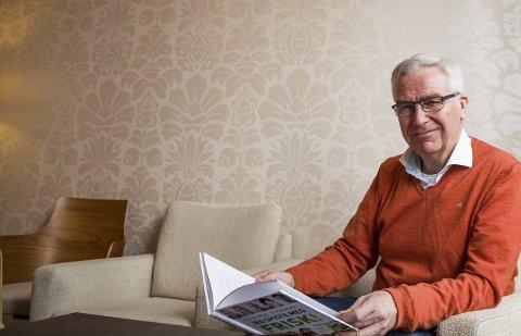 Spiste seg frisk: Det var hans egen helsereise som inspirerte Per Bjønnes Kristiansen til å starte bokprosjektet, der han skal samle ti historier fra personer som har spist seg friske.Foto: Sigrid Ringnes
