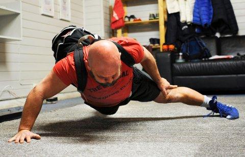 Ni ganger verdensrekordholder Sverre Diesen fra Larvik