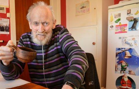 KAFFE OG FYRING: – Mye het kaffe og fyring blir det langt ut over våren, tror værprofet Bjørn Frang.