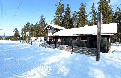 ARENA FOR SYKLING: CK Elverum ønsker å benytte terrenget rundt Strandbygda skistadion i Elverum til å lage rundbaneløype for terrengsykling.